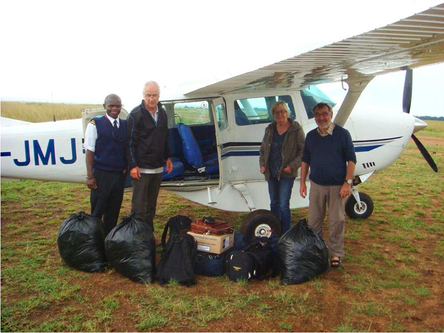 Mobile Klinik in der Masai Mara
