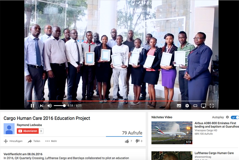 Cargo Human Care 2016 Education Project