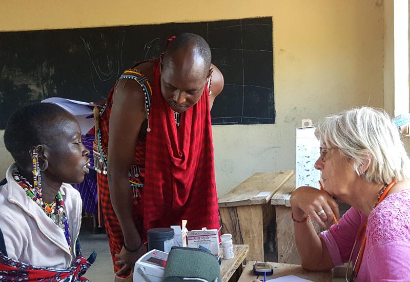 Medical Camp in der Massai Mara