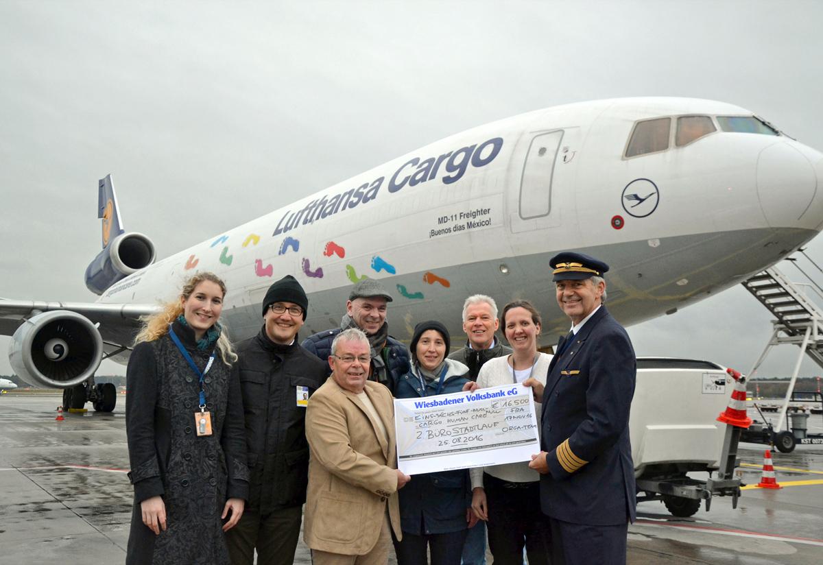 über 16.000 Euro für Cargo Human Care