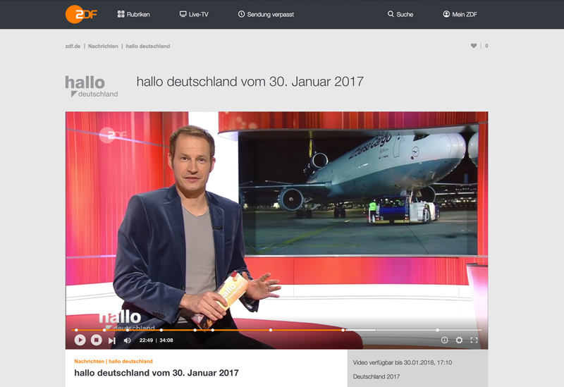 """""""Hallo Deutschland"""""""