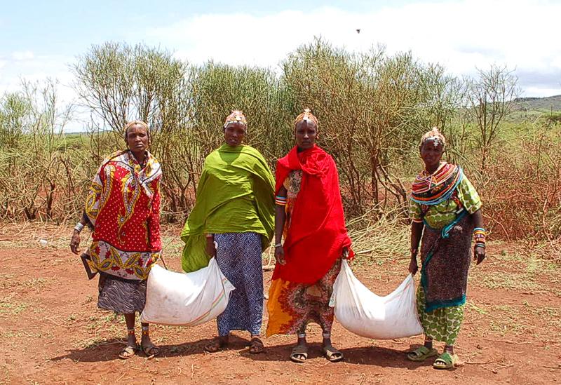 Immer noch kein Regen in Nordkenia ….