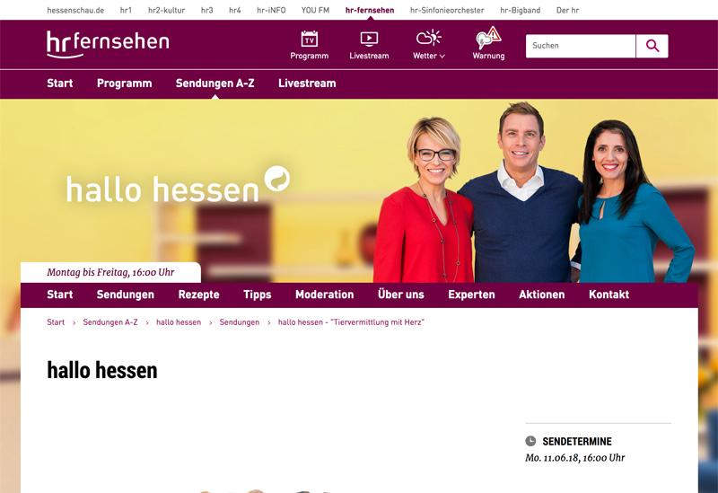 Humanitäre Hilfe aus Hessen