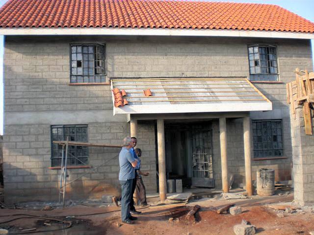 Fortschritte beim Bau den neuen Wohnhauses vom MMH