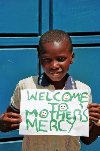 Eröffnung des Mothers' Mercy Home Wohnhauses