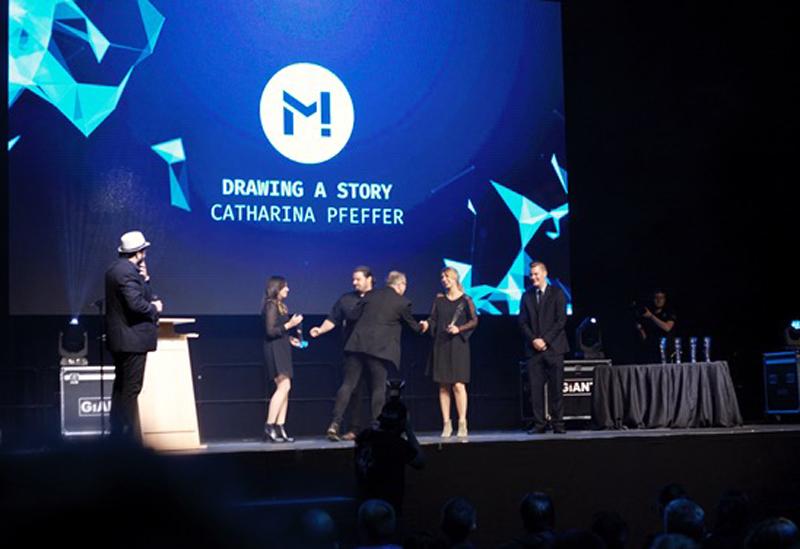 "Preis für den Film ""Drawing a Story"""