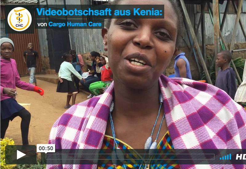 Videobotschaft aus Kenia: